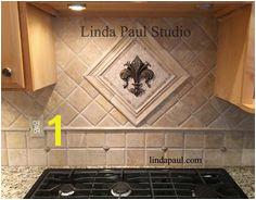 kitchen medallions Sean s Home Remodeling Travertine Tile Backsplash Decorative Tile Backsplash