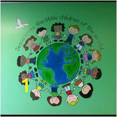 Sunday School Wall Murals 51 Best Children S Church Images