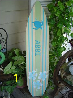 HOLIDAY SALE Surfboard Hawaiian wall art decor All Hand Painted Room Decor Lots Designs 2 Sizes by SundayTreasures on Etsy