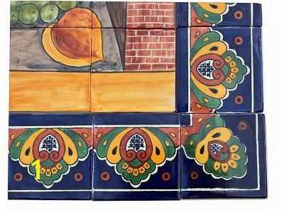 Bodegon Clay Talavera Tile Mural 0