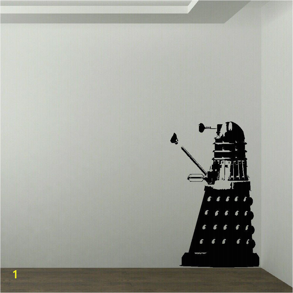 M LARGE DR WHO DALEK CHILDRENS BEDROOM WALL MURAL GIANT ART STICKER VINYL DECAL