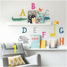 ABC Safari Wall Decals from Paper Riot Co