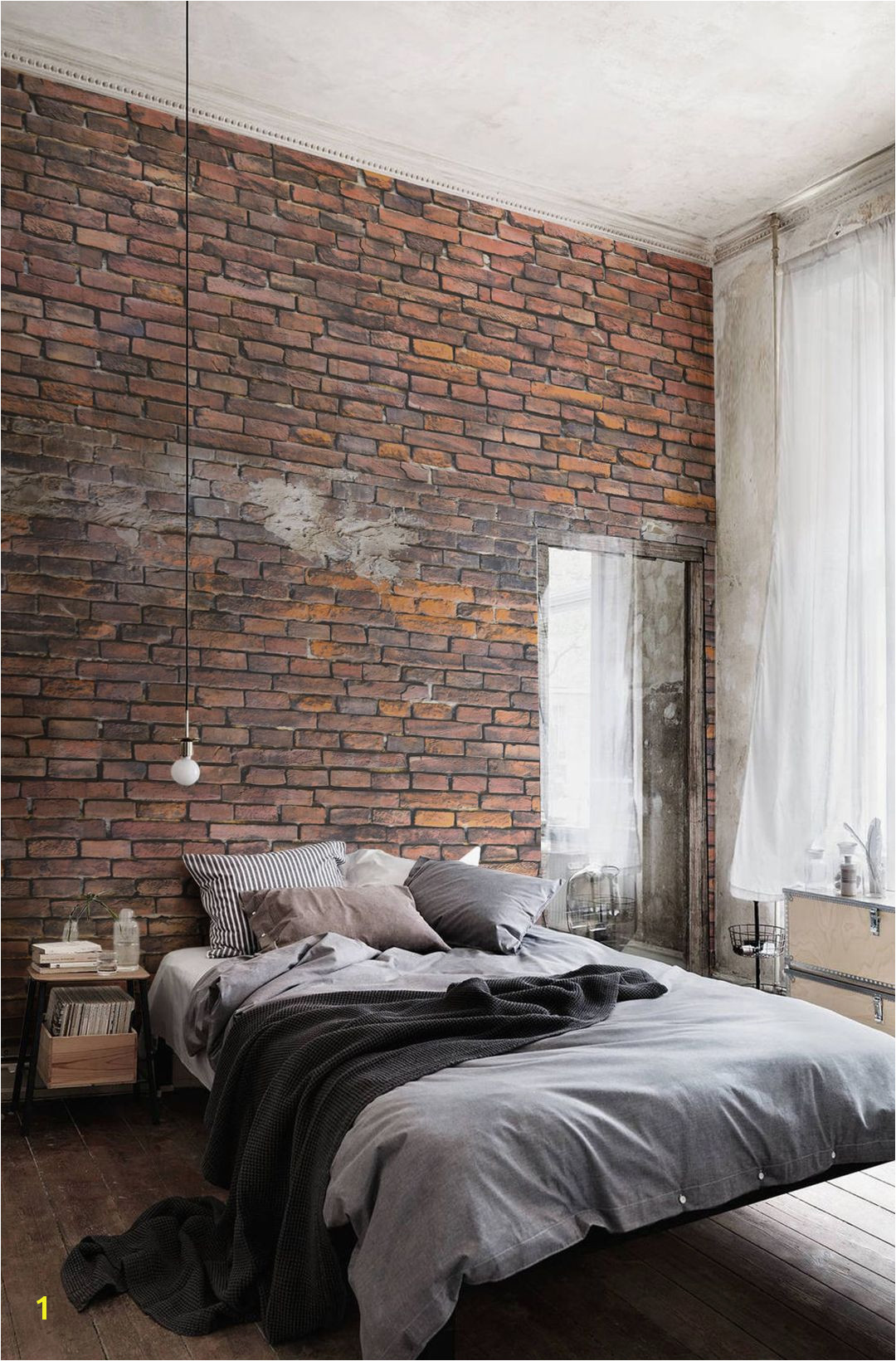 You don t need a brick wall to achieve your dream lofty interior Take a look at this brick effect wallpaper as a stunning alternative