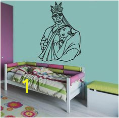 Chief Powhatan Wall Mural Walt Disney Vinyl Sticker Pocahontas Wall Vinyl Decal Home Interior Decor Kids
