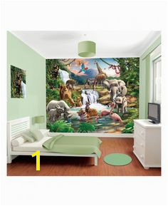 Found it at Wayfair Walltastic Wall Art Jungle Adventure Wall Mural Cartoon Wall Jungle