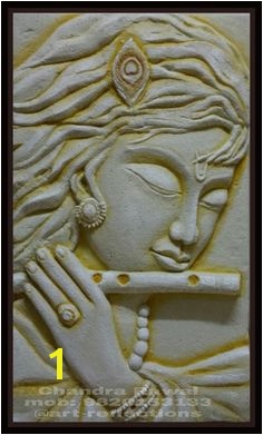 Krishna siporex 3D mural