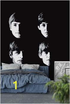 The Beatles Wall Mural Wallpaper Music Wallpaper Wall Murals The Beatles Wallpaper