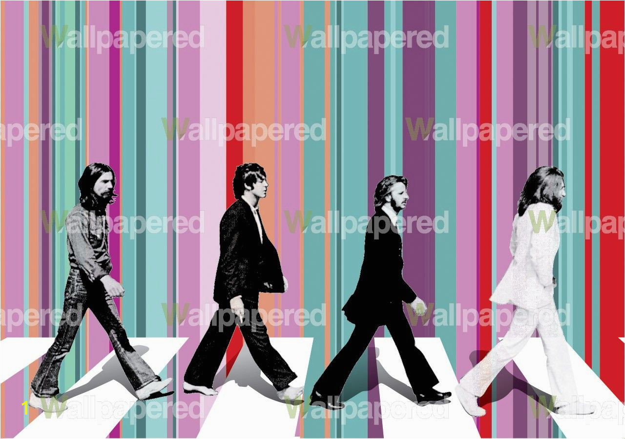 The Beatles Wall Mural Beatles Wallpaper • the Beatles Music Wall Murals