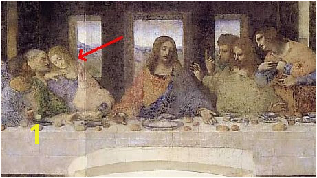 File Da Vinci The last supper detail Da Vinci code