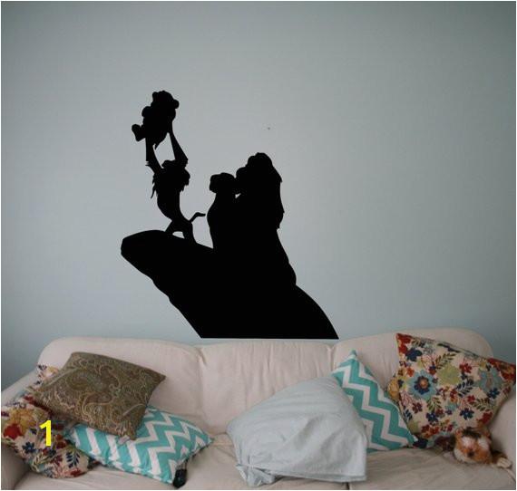 The Lion King Wall Vinyl Decal Disney Cartoons Wall Sticker Wall Home Interior Kids Children Room De