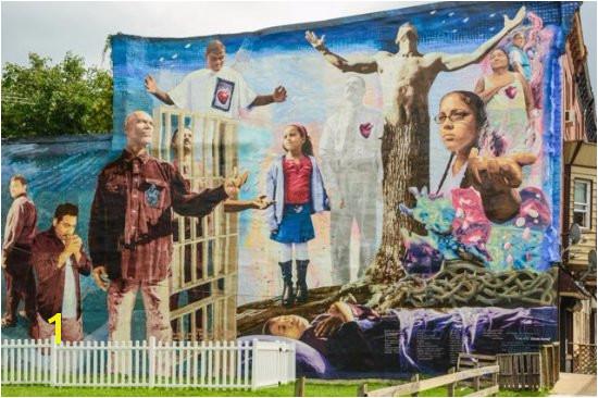 Mural Arts Program of Philadelphia Mural Tours Powerful art