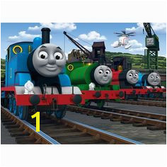 Walltastic Thomas the Tank Engine and Friends Wallpaper Mural from Walltastic part of the Thomas the