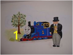 Thomas the Train Mural 11 Best My Childs Room Paintings Images