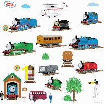 Thomas the Tank Engine and Friends Wall Decals idoo