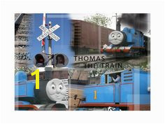 Limited Edition Thomas the Train 2 collage Digital Wall Thomas The Train Wall Collage
