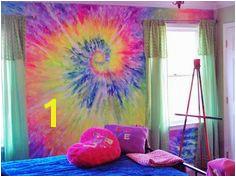 Tie Dye wall
