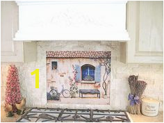 French Country Kitchen Backsplash Tile Mural by lindapaul on Etsy Country Kitchen Backsplash Kitchen Tiles