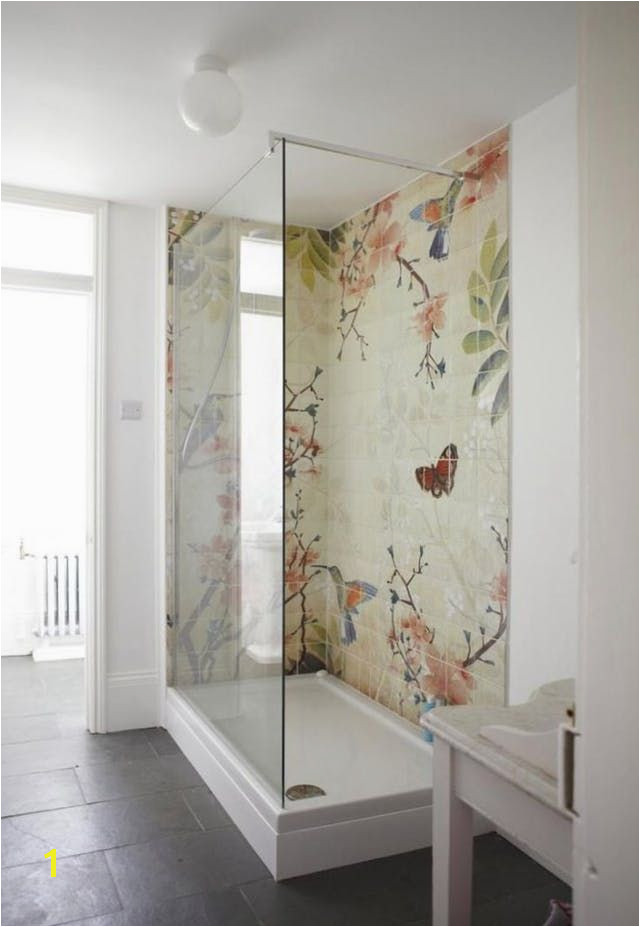 Tile Murals for Shower 10 Unusual & Beautiful Details to Steal for Your New Bathroom