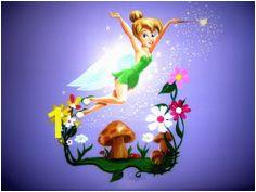 Flying Little Tinkerbell Murals Design Ideas