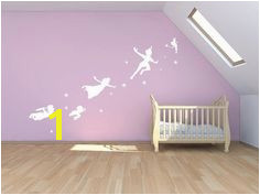 ON SALE OFF Peter Pan wall decal sticker fantasy fairytale mural childrens nursery magic tinker bell mural wall art