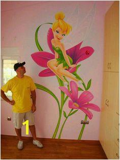 Tinkerbell Kids Room Murals Wall Murals Wall Art Disney Mural Arte Nas
