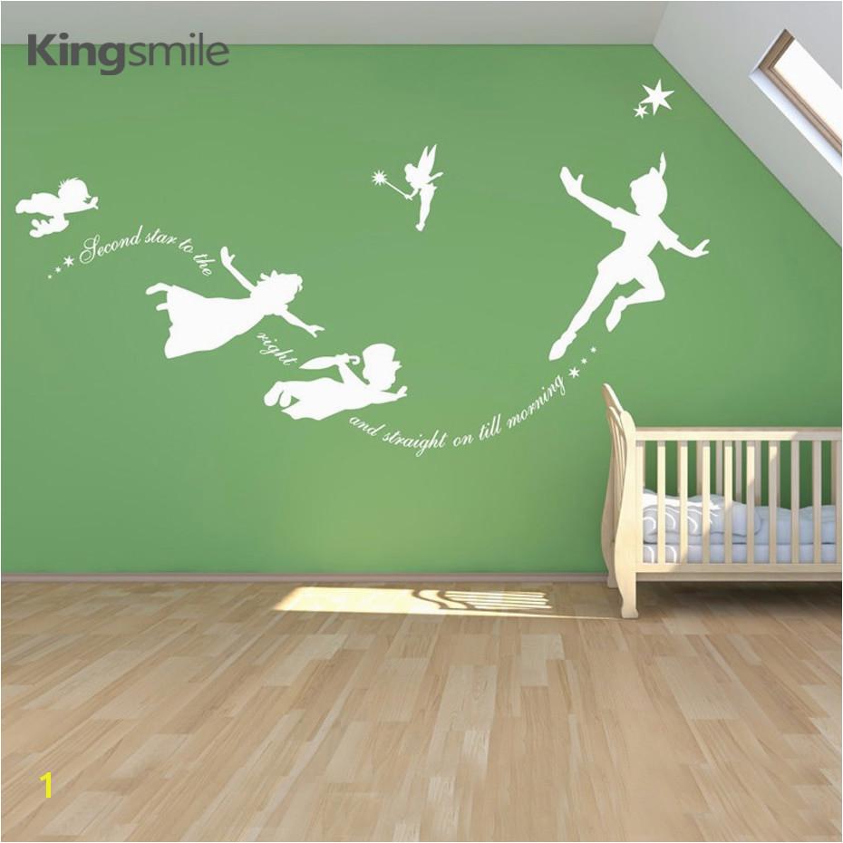 Cartoon Fantasy Fairy Magic Tinkerbell Vinyl Wall Sticker Decal Art Nursery Sticker Mural Pixie Dust Boys Girls Room Home Decor