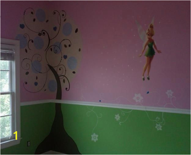 Tinkerbell Murals Mural for Tinkerbell Room Kid S Room