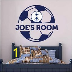 The ficial Home of Football Wall Stickers Tottenham Hotspur Bedroom Football Gifts