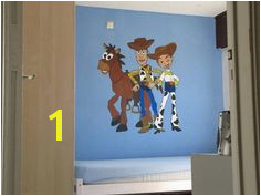 Toy Story Bedroom Woody Jessie Bulls eye