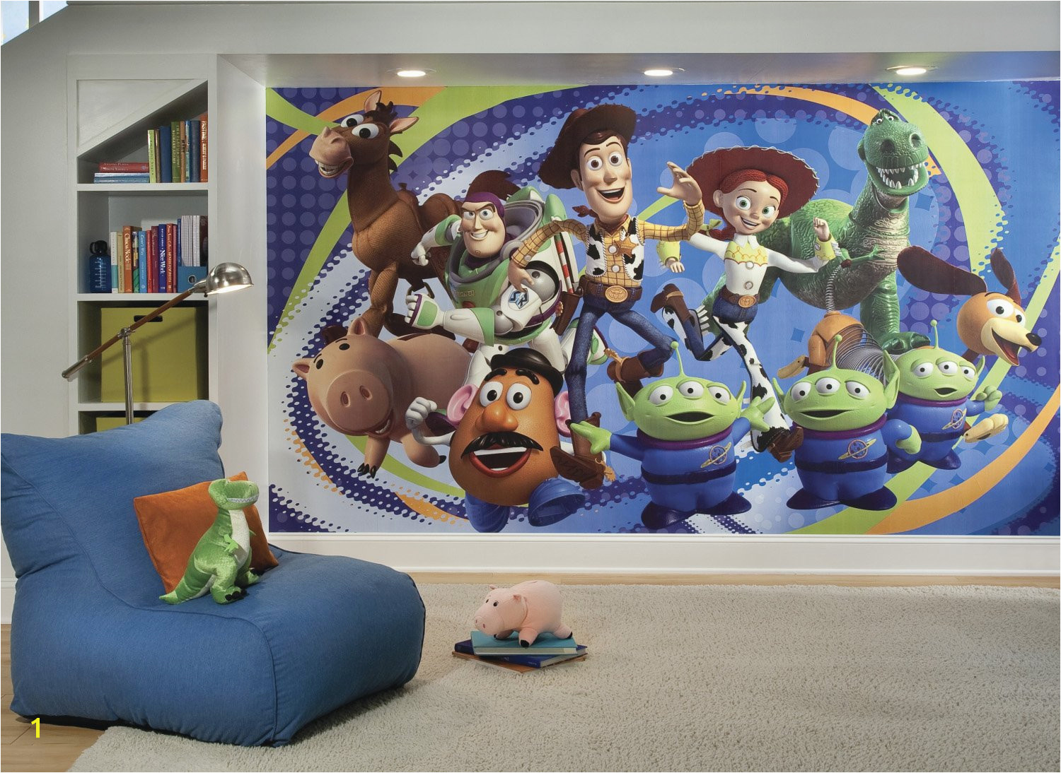 Disney Pixar Toy Story 3 Prepasted Wall Mural 10 5 W x 6 H Installed