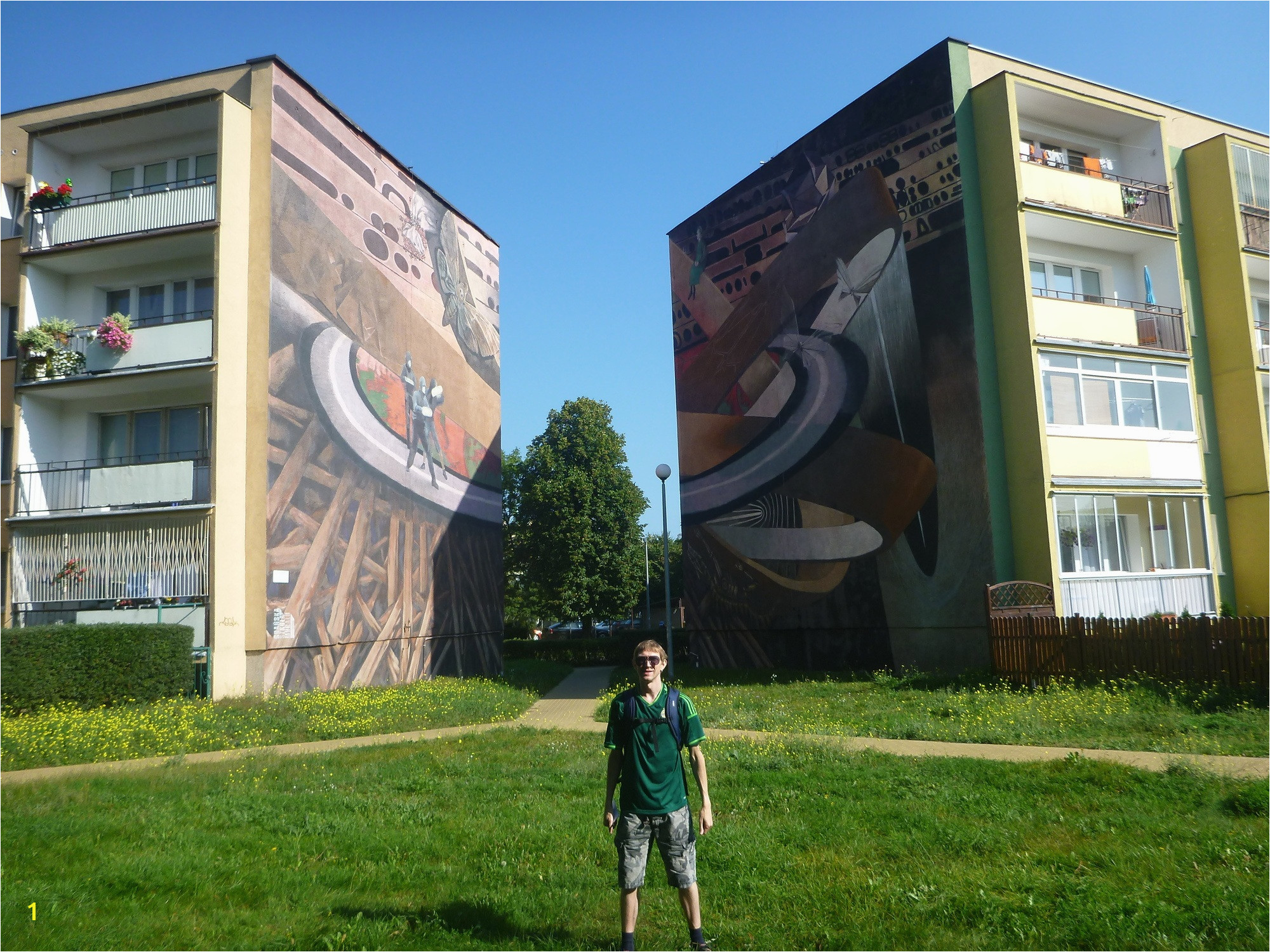Touring the Artistic Wall Murals in the District of Zaspa Gdańsk Poland