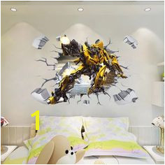 Transformer Bumblebee Wall Stickers Transformers Bumblebee Transformers Optimus Prime Wall Stickers Wall Decals
