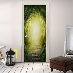 Papier peint pour porte THE FOREST OF FANTASY