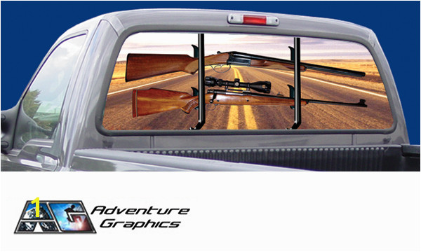 Rear window murals for trucks pickup truck rear window graphics vehicle graphics rear window