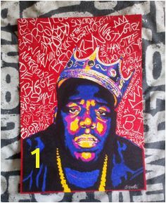 Biggie smalls notorious big hiphop rap rapper artwork drawing poster tupac 2pac chrisbardellart
