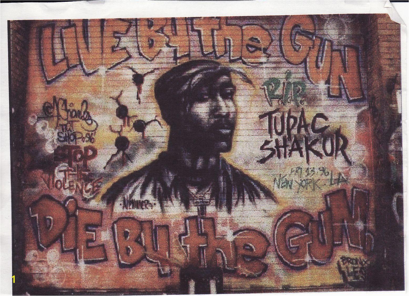 Tupac mural art