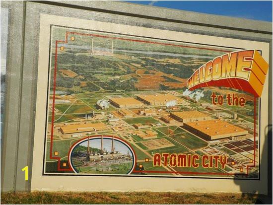 Floodwall Murals Atomic Paducah