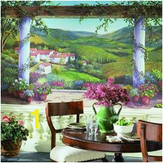 Italian Villa Wall Mural Cheap Wall Murals Mural Wall Travel Wall Decor Italian