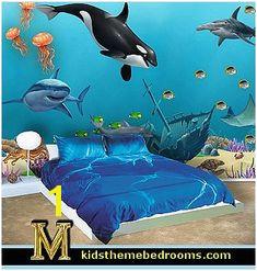 Underwater Wall Murals Uk 84 Best Ocean Murals Images