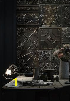 """New """"Tin Tiles"""" wall murals collection by KOZIEL ceiling"""