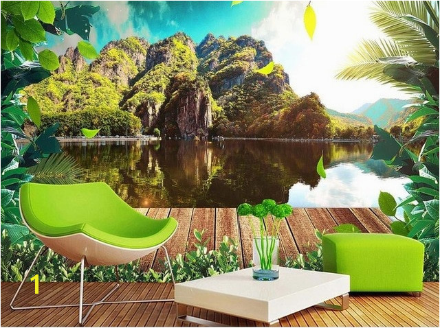 Modern Beautiful 3D Wall Murals Wallpaper HD nature scenery Wallpaper For Walls Fresh 3D Mural Wallpaper