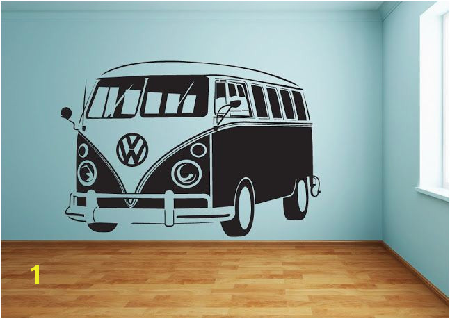 Cool and VW Bus Wall Stickers