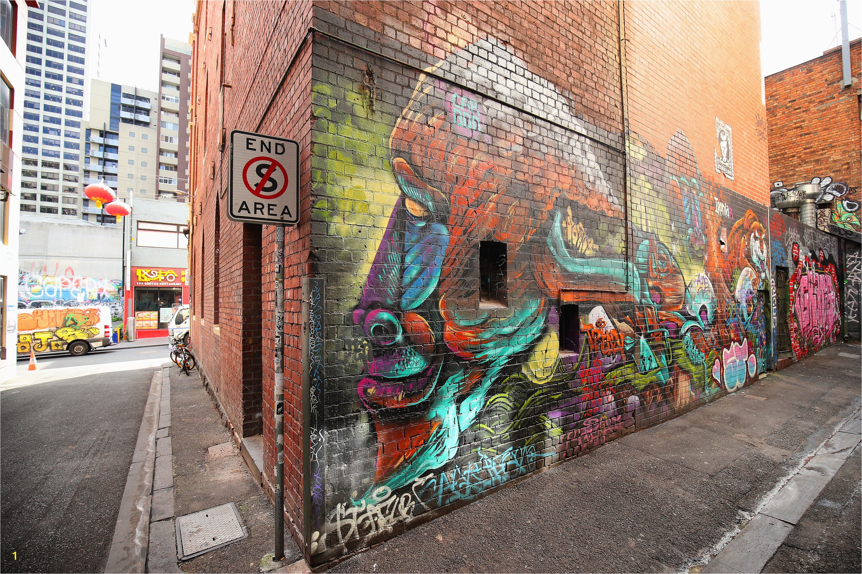 Croft Alley Melbourne Street Art 2017 photo credit Graham Denholm
