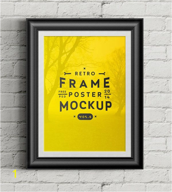 20 Free PSD Templates to Mockup Your Poster Designs Digital Freebies