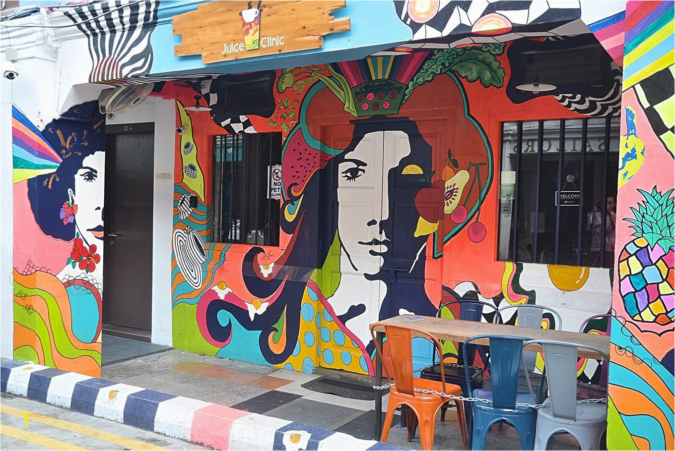 Visit these Murals for Your Ootd Posts From Singapore Relating to Wall Mural Painting Singapore