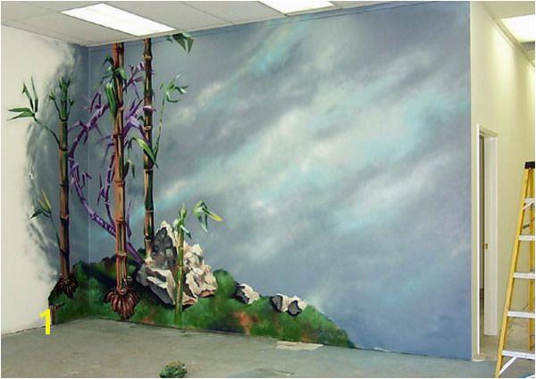 Painting Bamboo Murals Decals Walls decor Pinterest