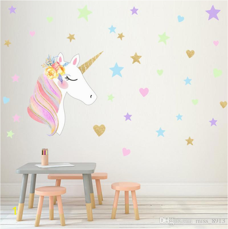 Wall Mural Stickers for Kids Rooms 2019 Wall Stickers for Kids Rooms Home Decoration Cartoon Animal