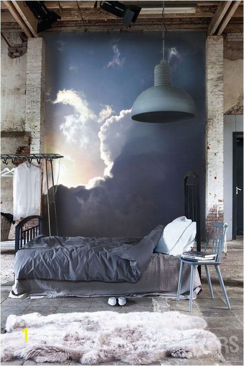 Cloud Bedroom Wall Murals Bedroom Painting Murals Walls Tranquil Bedroom