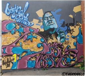 Wall Art by The Kid Belo behind The Camera Store 802 11th Ave SW Calgary