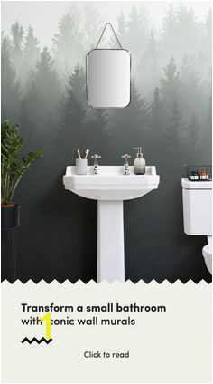 Creating an elegant and stylish small bathroom space is easily obtained by installing an iconic wall